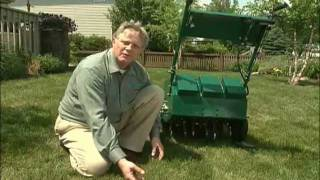 Benefits of Core Aeration -- Lawn Care Tips & Techniques