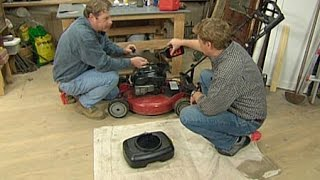 How to Maintain a Lawn Mower - This Old House