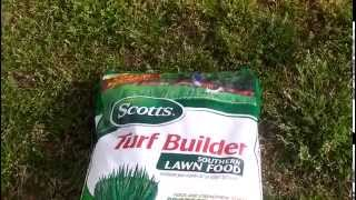 Scott's turf builder Southern Lawn Food.
