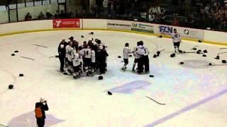 New Prague Trojans win 2014 Section 1A Boys Hockey Finals
